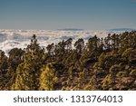 stunning clouds landscape.... | Shutterstock . vector #1313764013