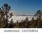 stunning clouds landscape.... | Shutterstock . vector #1313764016
