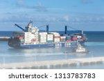 orenjastad  aruba   may 15 ... | Shutterstock . vector #1313783783