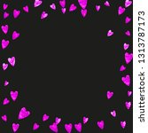bridal background with pink... | Shutterstock .eps vector #1313787173