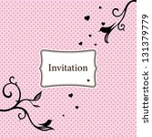 Stylish Invitation Card With...