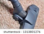 close up of head of vacuum... | Shutterstock . vector #1313801276