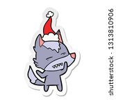 hand drawn sticker cartoon of a ... | Shutterstock .eps vector #1313810906