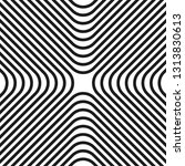 abstract striped modern pattern | Shutterstock .eps vector #1313830613