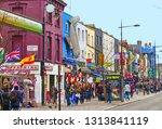 london  uk 15.03.2015. camden... | Shutterstock . vector #1313841119