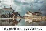 istanbul  turkey  february 15 ... | Shutterstock . vector #1313856476