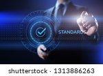 standards quality assurance...   Shutterstock . vector #1313886263