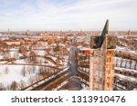 riga  latvia  february 14  2018 ... | Shutterstock . vector #1313910476