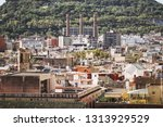 view of the rooftops of...   Shutterstock . vector #1313929529