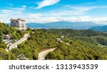 view from mount tibidabo ... | Shutterstock . vector #1313943539
