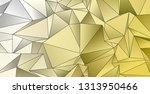 background triangulated texture.... | Shutterstock . vector #1313950466