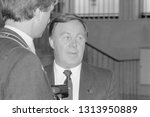 moscow  ussr   august 23  1991  ... | Shutterstock . vector #1313950889