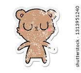 distressed sticker of a... | Shutterstock .eps vector #1313951240