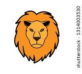 leo horoscope icon   Shutterstock .eps vector #1314003530
