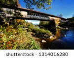 The Blair Covered Bridge In...