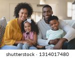 front view of happy african... | Shutterstock . vector #1314017480