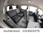 the black rear seats in the suv | Shutterstock . vector #1314023270