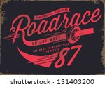 Vintage Illustration Retro Rac...