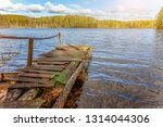 fishing tourism relax concept.... | Shutterstock . vector #1314044306