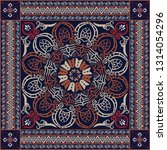 bandanna design  vector  | Shutterstock .eps vector #1314054296