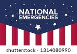 national emergencies in the... | Shutterstock .eps vector #1314080990