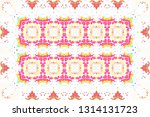 colorful mosaic pattern for... | Shutterstock . vector #1314131723