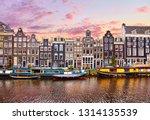 amsterdam  netherlands.... | Shutterstock . vector #1314135539