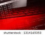 notebook computer keyboard.... | Shutterstock . vector #1314165353