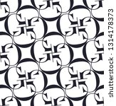 decorative vector pattern with... | Shutterstock .eps vector #1314178373