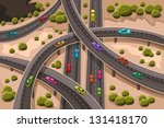 a vector illustration of... | Shutterstock .eps vector #131418170