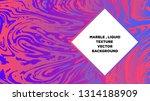 mixture of acrylic paints.... | Shutterstock .eps vector #1314188909