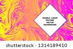 mixture of acrylic paints.... | Shutterstock .eps vector #1314189410