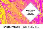 mixture of acrylic paints.... | Shutterstock .eps vector #1314189413