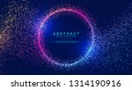 dynamic abstract liquid flow...   Shutterstock .eps vector #1314190916