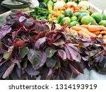 Red leafy Veggies And Other veggies - Bangladesh