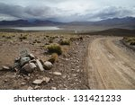 A Desert On The Altiplano Of...