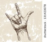 hand. drawing vector | Shutterstock .eps vector #131423078