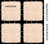 vector seamless illustration of ... | Shutterstock .eps vector #1314246596