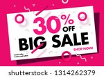 30  price discount sale... | Shutterstock .eps vector #1314262379