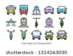 color and line style transport... | Shutterstock .eps vector #1314263030