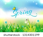 beautiful poster or banner... | Shutterstock .eps vector #1314301199
