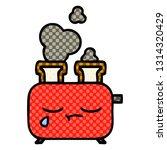 comic book style cartoon of a... | Shutterstock .eps vector #1314320429