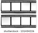 film  movie  photo  filmstrip | Shutterstock .eps vector #131434226