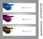 vector abstract web banner... | Shutterstock .eps vector #1314353720