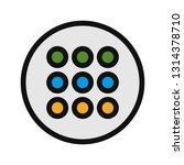 pad vector icon