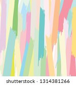 abstract colorful paint brush... | Shutterstock .eps vector #1314381266