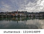 view over the inn river at...   Shutterstock . vector #1314414899