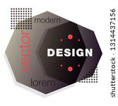 minimalistic design  creative... | Shutterstock .eps vector #1314437156