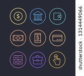 business vector icons. finance... | Shutterstock .eps vector #1314449066
