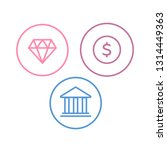 insurance icons. tax and... | Shutterstock .eps vector #1314449363
